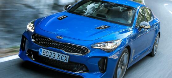 Kia Stinger: Herlig design og grom å kjøre
