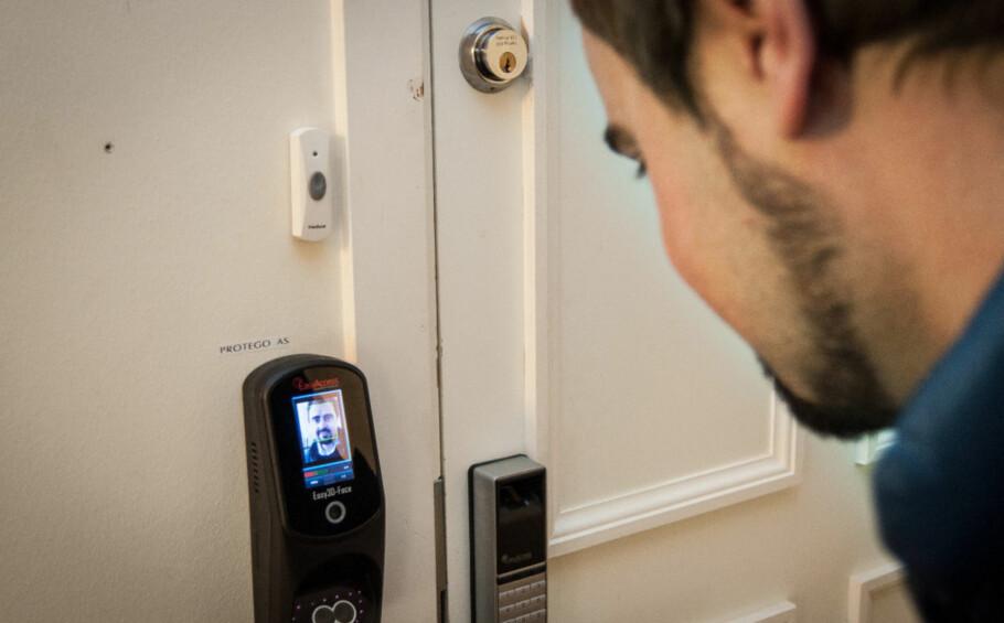 UKJENT: Det er demonstrert hacking av smartlåser på det teoretiske plan, men så langt kan verken låsleverandør, politi eller forikringsbransje vi har snakket med fortelle om at det har skjedd i Norge. Foto: Gaute Beckett Holmslet