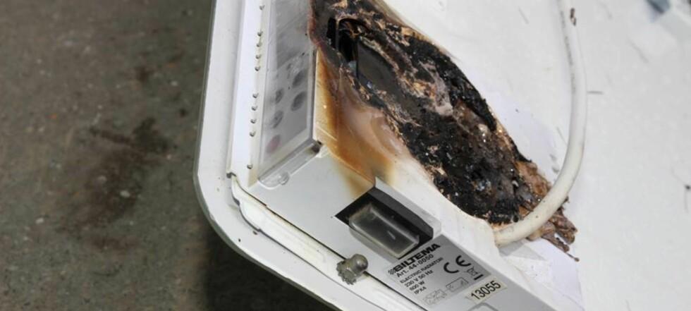Advarer mot brannfarlige panelovner fra Biltema