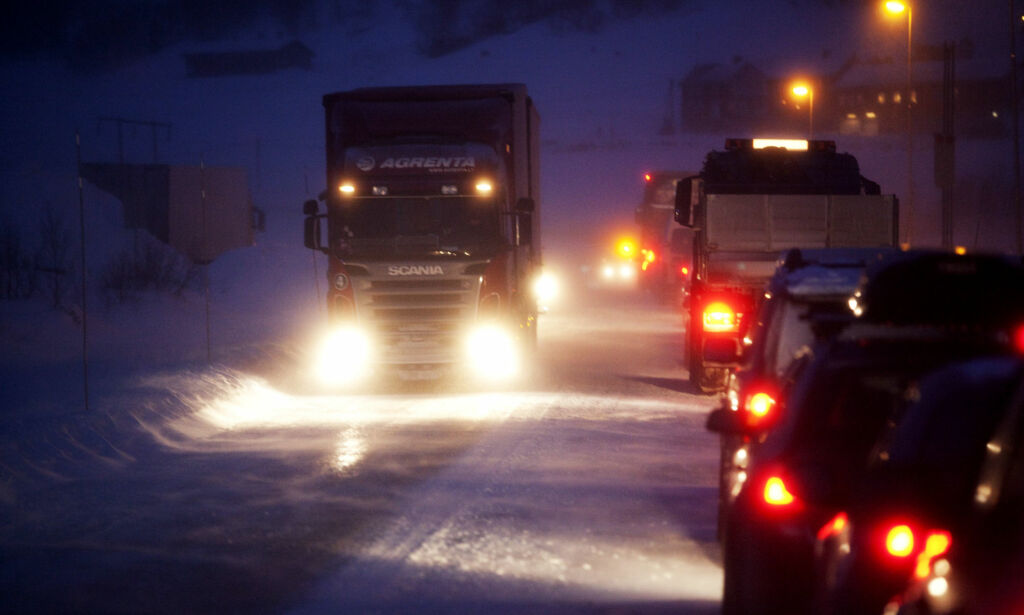 image: Så mange sjåfører mener eget syn har påvirket kjøringen deres