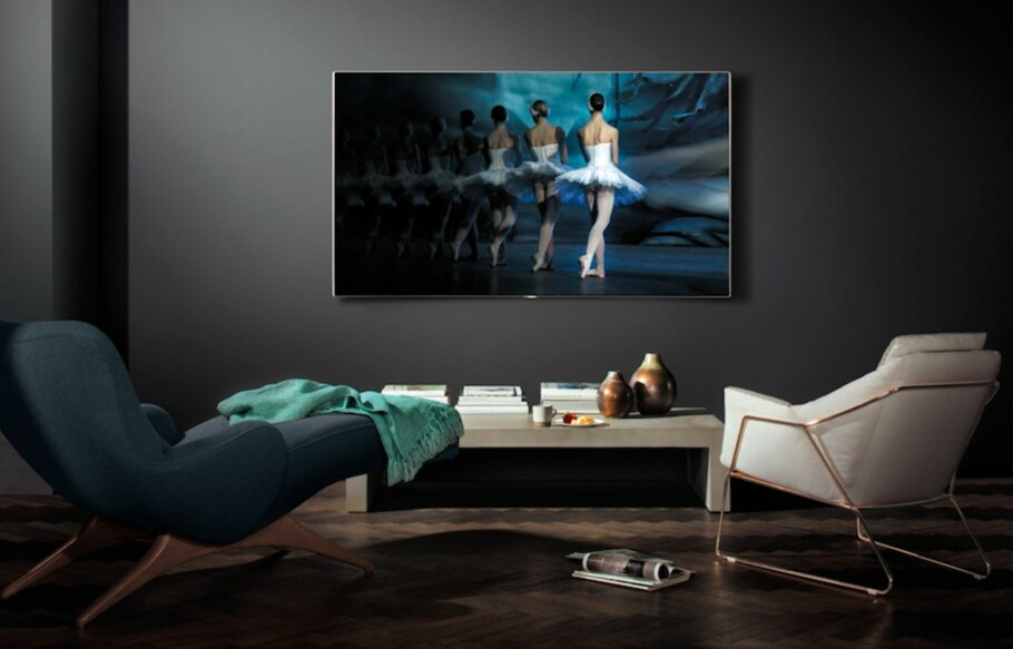 Testlaget lot seg imponere av Samsungs QLED-TV.