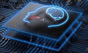 Kirin 970 er hjertet i Mate 10 Pro, som nå inneholder en egen nevralt nettverk-prosessor. Foto: Huawei