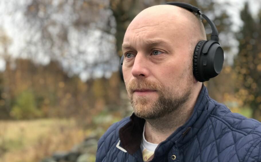 HYGGELIG PRIS: 599 kroner er ikke galt for et par trådløse hodetelefoner med aktiv støyreduksjon. Foto: Pål Joakim Pollen