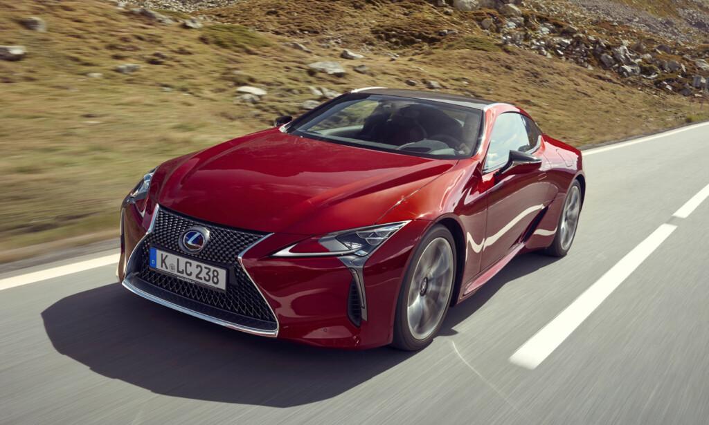 MEST DRIFTSSIKKER: Lexus er merket som går helt til topps i den store kvalitetsundersøkelsen til britiske «What Car?». Foto: Produsenten