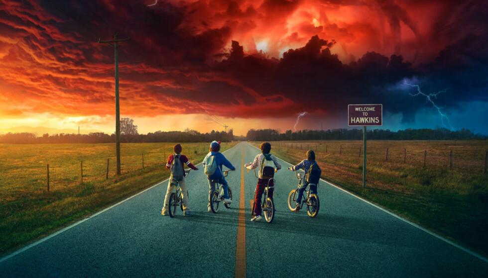 NY SESONG: Mange har gledet seg til sesong 2 av Stranger Things, men før du setter i gang, vil skaperne at du endrer TV-innstillingene. Foto: Netflix