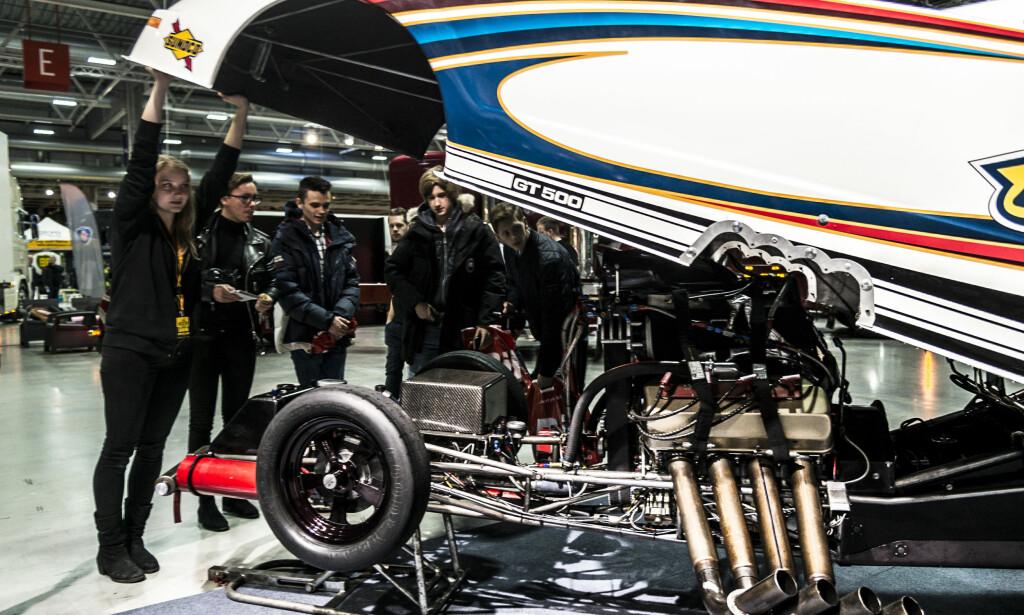 OSLO MOTOR SHOW: Det står ikke på rariteter, når Oslo Motor Show igjen skal avholdes. Her fra fjorårets utstilling. Foto: Rune Nesheim