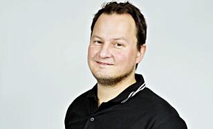 <strong>SPENT:</strong> Kommunikasjonssjef Knut Arne Marcussen i Nissan Norge. Foto: Nina Hansen