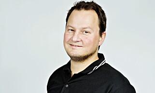 SPENT: Kommunikasjonssjef Knut Arne Marcussen i Nissan Norge. Foto: Nina Hansen