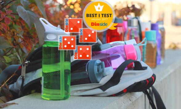 Stor test: Med disse drikkeflaskene risikerer du lekkasjer