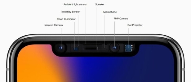 AVANSERT: Apple hevder at deres ansiktsgjenkjenningssystem skal være langt sikrere enn fingeravtrykkleseren. Foto: Apple