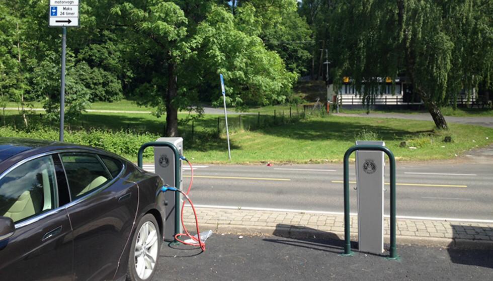 KOMMUNAL LADING: Oslo kommune reddet husfreden i Asperudåsen borettslag. Her fra Hvervenbukta like ved. Foto: Norsk elbilforening