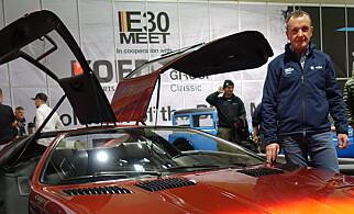 LEDER BMW CLASSIC: Norbert Knerr er ansvarlig for avdelingen som tar for seg de klassiske bilene hos BMW. Foto: Fred Magne Skillebæk