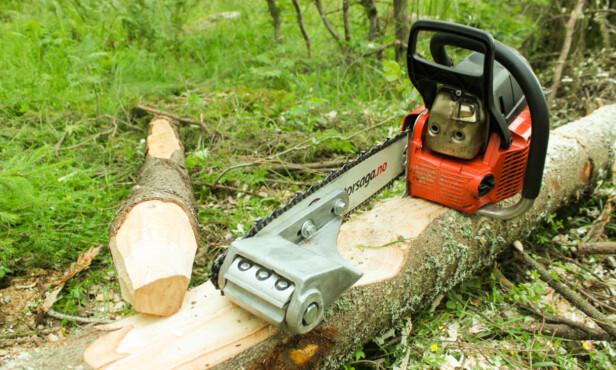 FRES: Skal du barke eller forme tre er dette tilbehøret. Foto: Produsenten
