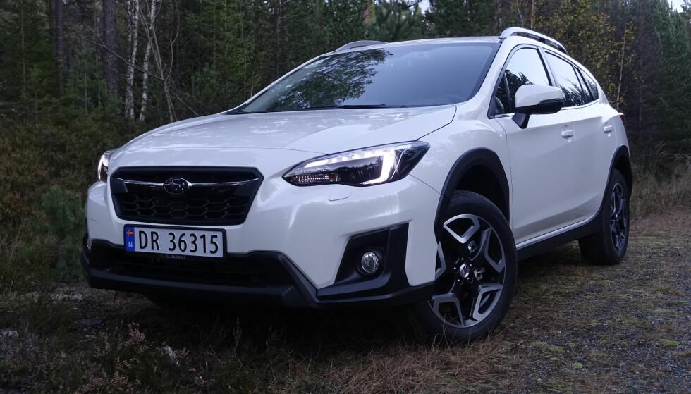 RØFF: Subarus slagord er «ustoppelig». XV skal være bra i terrenget, noe hverken vi eller de fleste av kundene får anledning til å teste fullt ut. Foto: Rune M. Nesheim