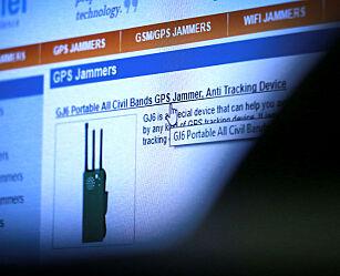 image: Kjøper du GPS-jammer, risikerer du fengsel