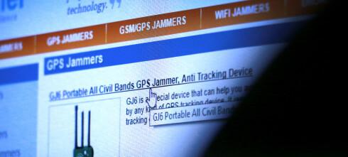 Kjøper du GPS-jammer, risikerer du fengsel