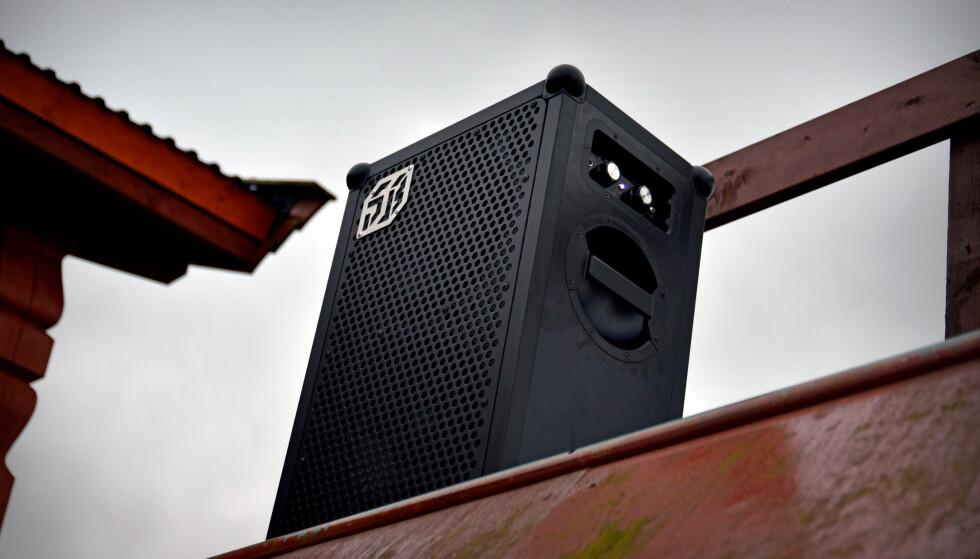 VOLDSOM: Soundboks 2 er god for 122 dB og flørter derfor med smertegrensa når du har skrudd volumet til topps. Foto: Pål Joakim Pollen