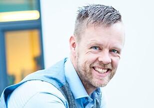 Geir Petter Gjefsen, sikkerhetsansvarlig i Finn.no. Foto: Caroline Roka.