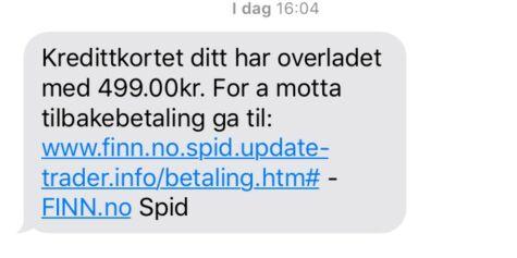 image: Svindlere ba om kredittinformasjon fra Finn.no-brukere