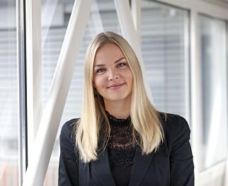 Christin Dammen, kommunikasjonsrådgiver i Lånekassen. Foto: Kim Ramberghaug.