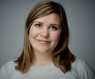 Hanna Folkvord, finansrådgiver i DNB. Foto: Stig B. Fiksdal.