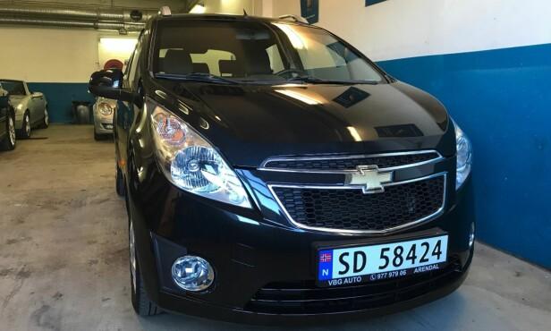 SLÅR GNISTER: Chevrolet Spark. Foto: Autodeal