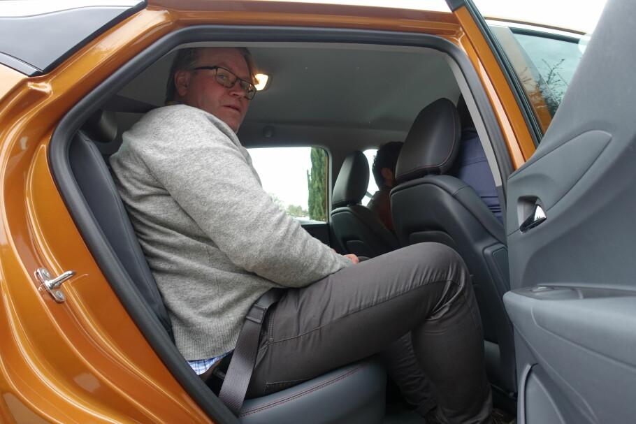 HVA SKJEDDE MED OPEL AMPERA-E? Opel Norges pr-sjef Stein Pettersen var en fornøyd mann da han kunne la Dinside teste Ampera-e for første gang i San Francisco i februar i år. Eventyret ser ikke like lyst ut i dag, ni måneder senere. Foto: Fred Magne Skillebæk