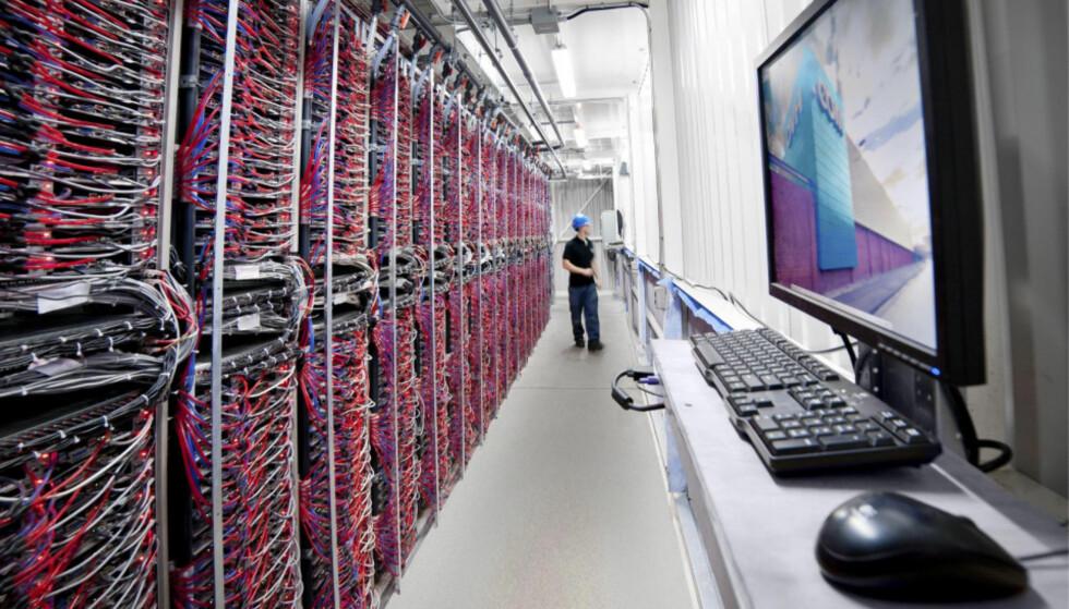 GIKK NED: Det store europeiske datasenteret OVH gikk ned i dag morges. Foto: OVH.