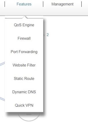 <strong>MANGE MULIGHETER:</strong> Ruteren byr på en rekke avanserte funksjoner, inkludert VPN-støtte, filtrering av uønsket innhold med mer.