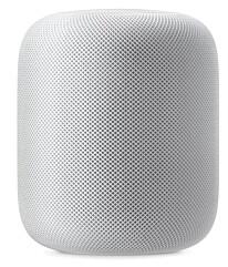 SMART-HØYTTALER: Med Apple HomePod kan du styre både musikk og lys via stemmen.