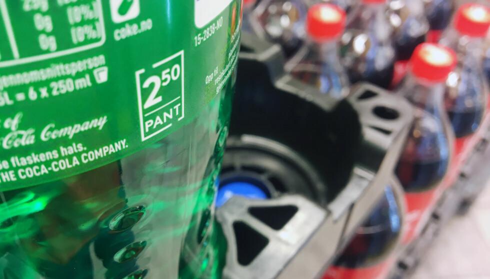 HØYERE PANT: Miljødirektoratet anbefaler at pantesatsene settes opp til 2 og 3 kroner. Foto: Berit B. Njarga