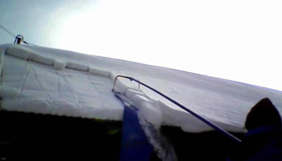 SKLIR AV: Med Avalance taksnømåke kan du stå på bakken og rutsje snøen av taket. Foto: Brynjulf Blix