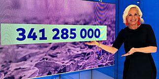 image: Oslo-kvinne vant 341 millioner kroner i Vikinglotto