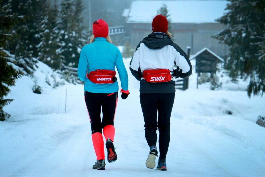 <strong>TEST AV TERMO-DRIKKEBELTER:</strong> Les vår duell mellom termobeltene fra Swix og Madshus. Foto: Ole Petter Baugerød Stokke