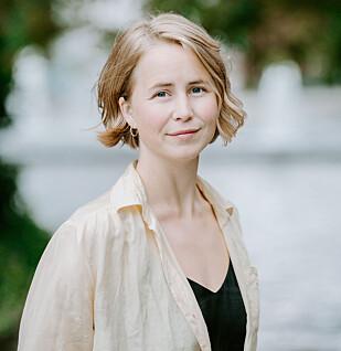 Anja Bakken Riise, leder i Framtiden i våre hender. Foto: Renate Madsen.