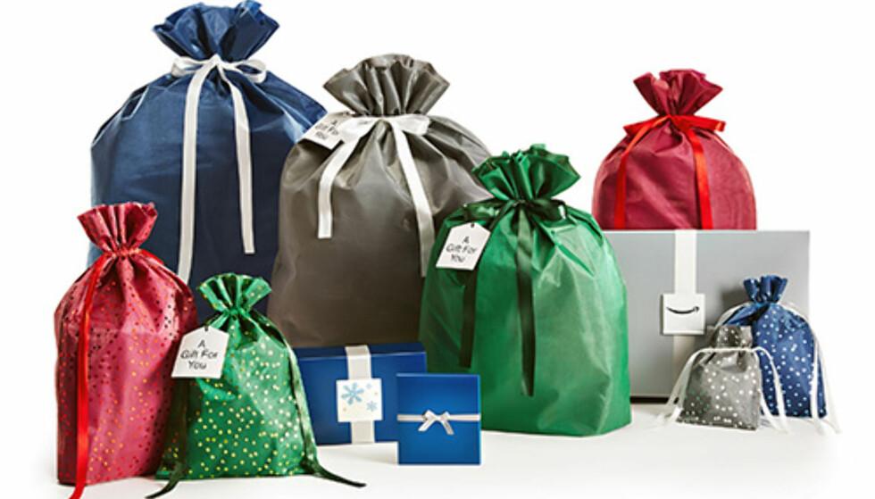 MER PERSONLIG: Det er ikke så stas å motta gaven i en grå kasse med plast. Det har Amazon gjort noe med. Foto: Amazon