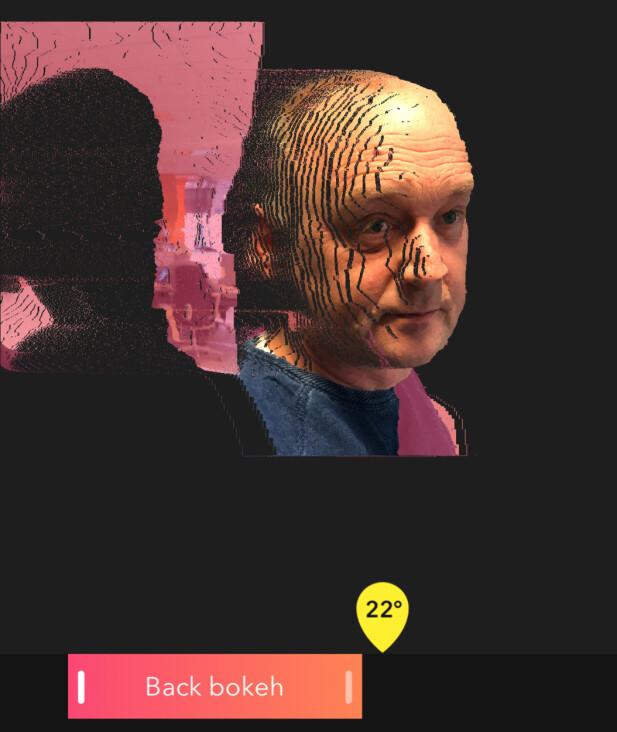 Denne appen kan gjøre magiske ting med portrettbildene