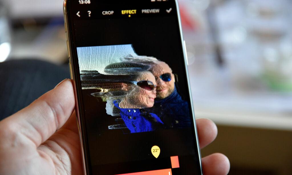 image: Denne appen kan gjøre magiske ting med portrettbildene fra iPhone