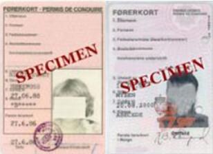 UGYLDIGE SOM ID: De laminerte førerkortene er ikke gyldige som legitimasjon, selv om innehaverne kan ha gyldig førerrett. Foto: Statens vegvesen