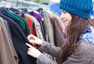 Tilbyr gratis reparasjon og bytting av klær