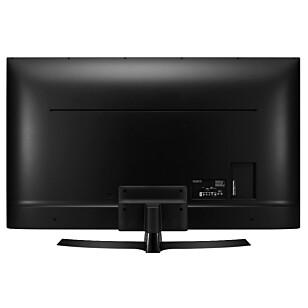 KONTAKTER: Antennekabler, lydkabler og HDMI-kabler plugges rett i TV-en på LG. Foto: LG