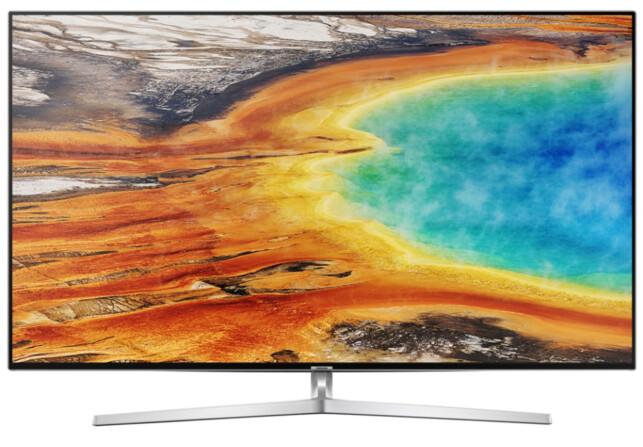 Samsung UE55MU8005. Foto: Samsung