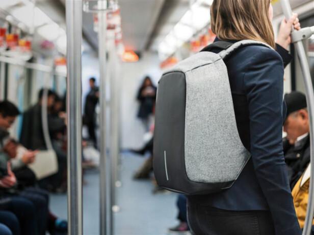 Føl deg tryggere på ferie eller bare T-banen. Her er ryggsekken som stopper lommetyvene.