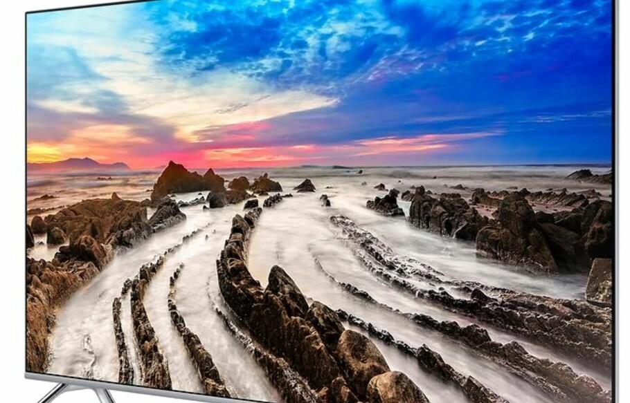 33% rabatt på Samsungs 82 tommers, 4K UHD, smart-TV. Det blir ikke mye bedre.