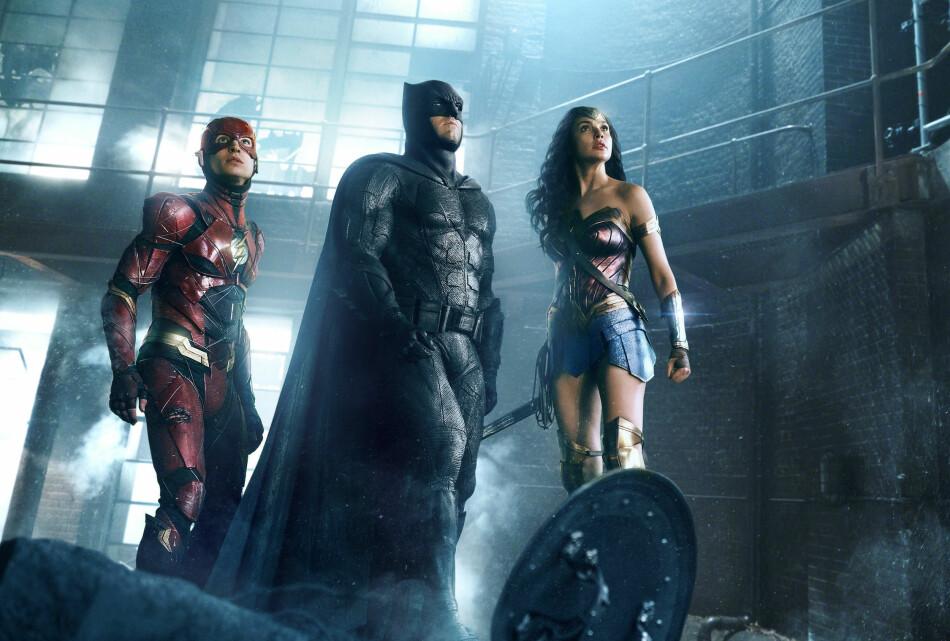 SAMME FILM - ULIK PRIS: Det er ikke det samme hvilken kino du velger for å se for eksempel Justice League. I samme geografiske område kan det skille så mye som 35 kroner per billett - og for en familie på fire blir det fort over hundre kroner i prisforskjell. Foto: Film Box Office/NTB Scanpix