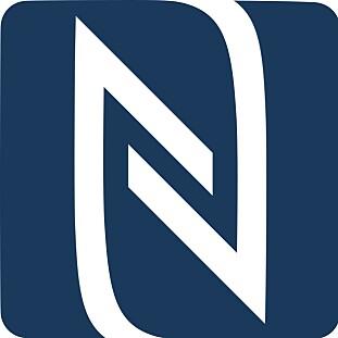 NFC-logoen. Har begge enheter denne, legger du logoene inntil hverandre for å forenkle paringsprosessen. Foto: Wikipedia