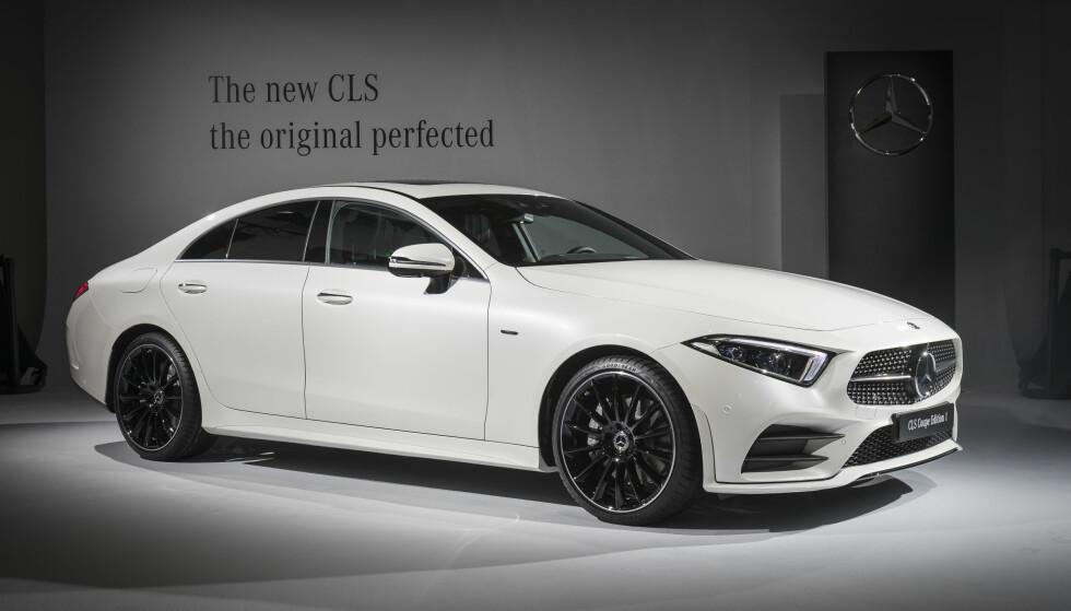 EDITION 1: Det blir stadig vanligere med en lanseringsserie av dyrere nye biler. Også Mercedes CLS kommer som Edition 1 (bildet). Foto: Daimler
