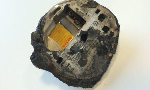 image: Denne røykvarsleren førte til redusert utbetaling på forsikringen
