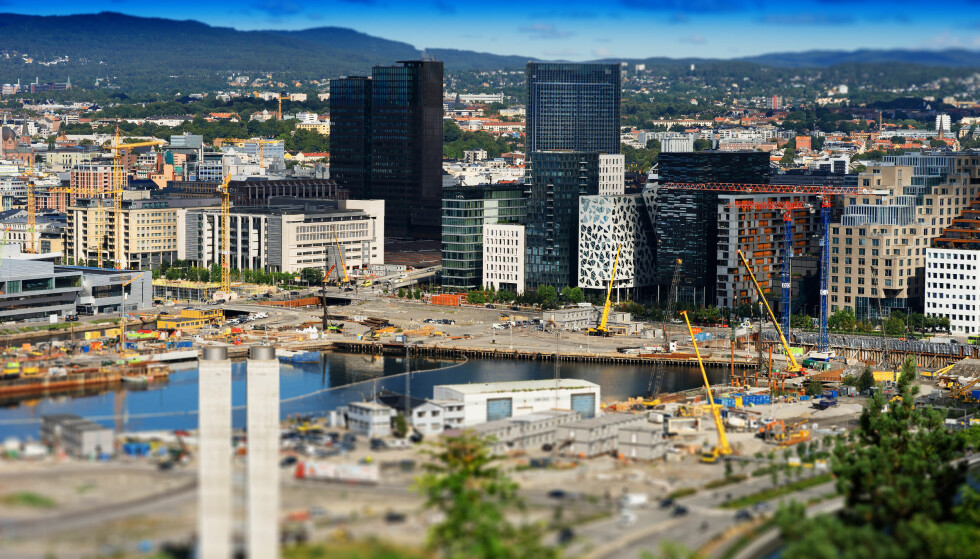 BYEN I FOKUS: Boligprisene har falt i stort sett hele landet i 2017, men det er spesielt prisutviklingen i Oslo som har fått mye oppmerksomhet. Illustrasjonsfoto: Shutterstock/NTB scanpix.