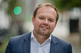 Andrè Øren, salgsdirektør i DNB. Foto: Stig B. Fiksdal.